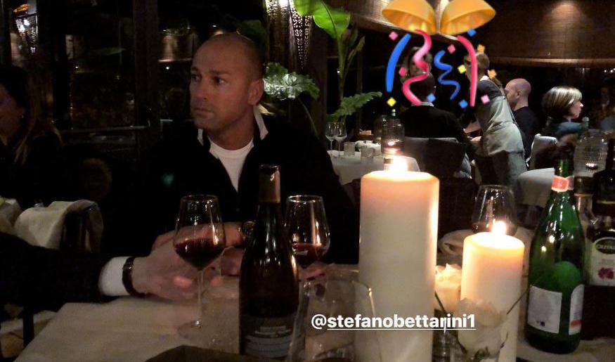 Stefano Bettarini spegne 46 candeline con la sua Nicoletta