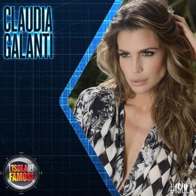 """Claudia Galanti: """"Vado a L'Isola dei Famosi perché ho bisogno di soldi"""""""