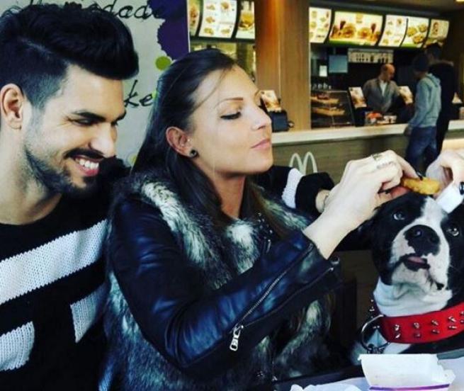 Cristian debutta su Instagram: la prima foto è con Tara