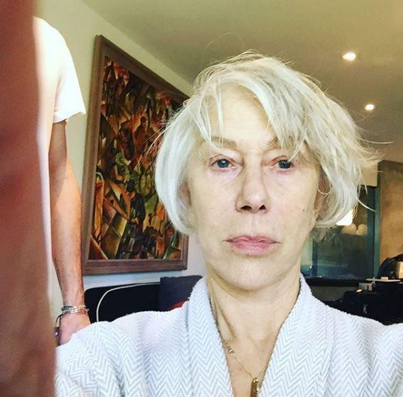 Helen Mirren, facce da Oscar: prima e dopo il make up