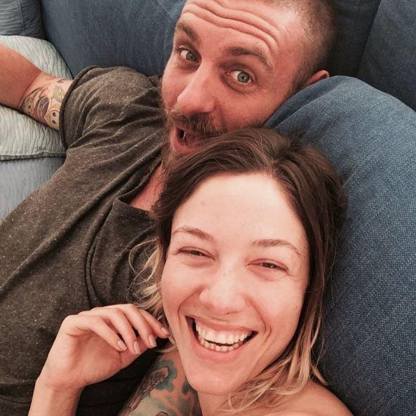Sarah Felberbaum, le prime foto con Noah