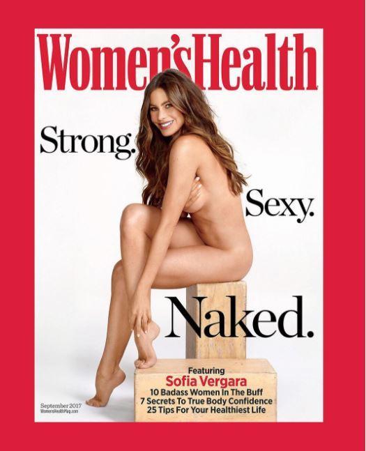 Sofia Vergara si spoglia a 45 anni per Women's Health