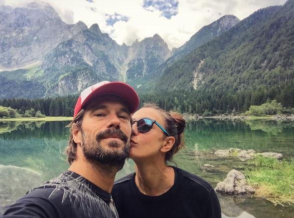 Ambra Angiolini e Lorenzo Quaglia innamorati a Roma