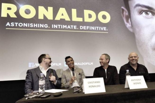 Cristiano Ronaldo, il film documentario arriva al cinema