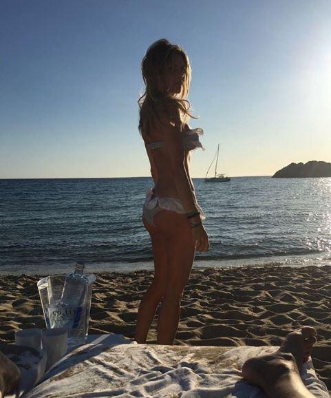 Eleonora Pedron e Daniele Conte, vacanze bollenti in Salento
