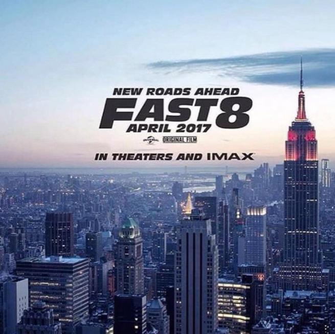 """""""Fast and Furious 8"""", Vin Diesel rivela titolo e poster del nuovo film"""