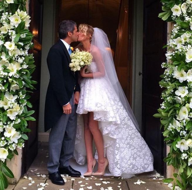 Alessia Marcuzzi si è sposata