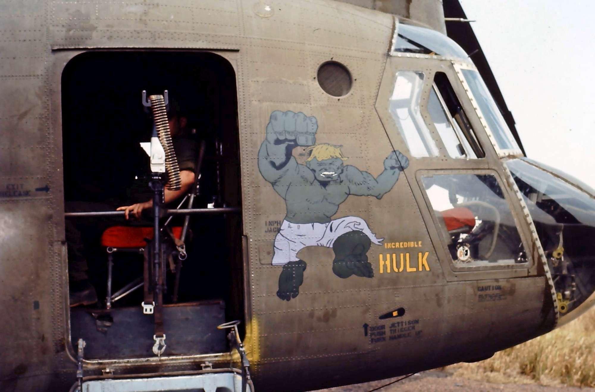 Elicottero 007 : Gli elicotteri decorati dai soldati durante la guerra del vietnam