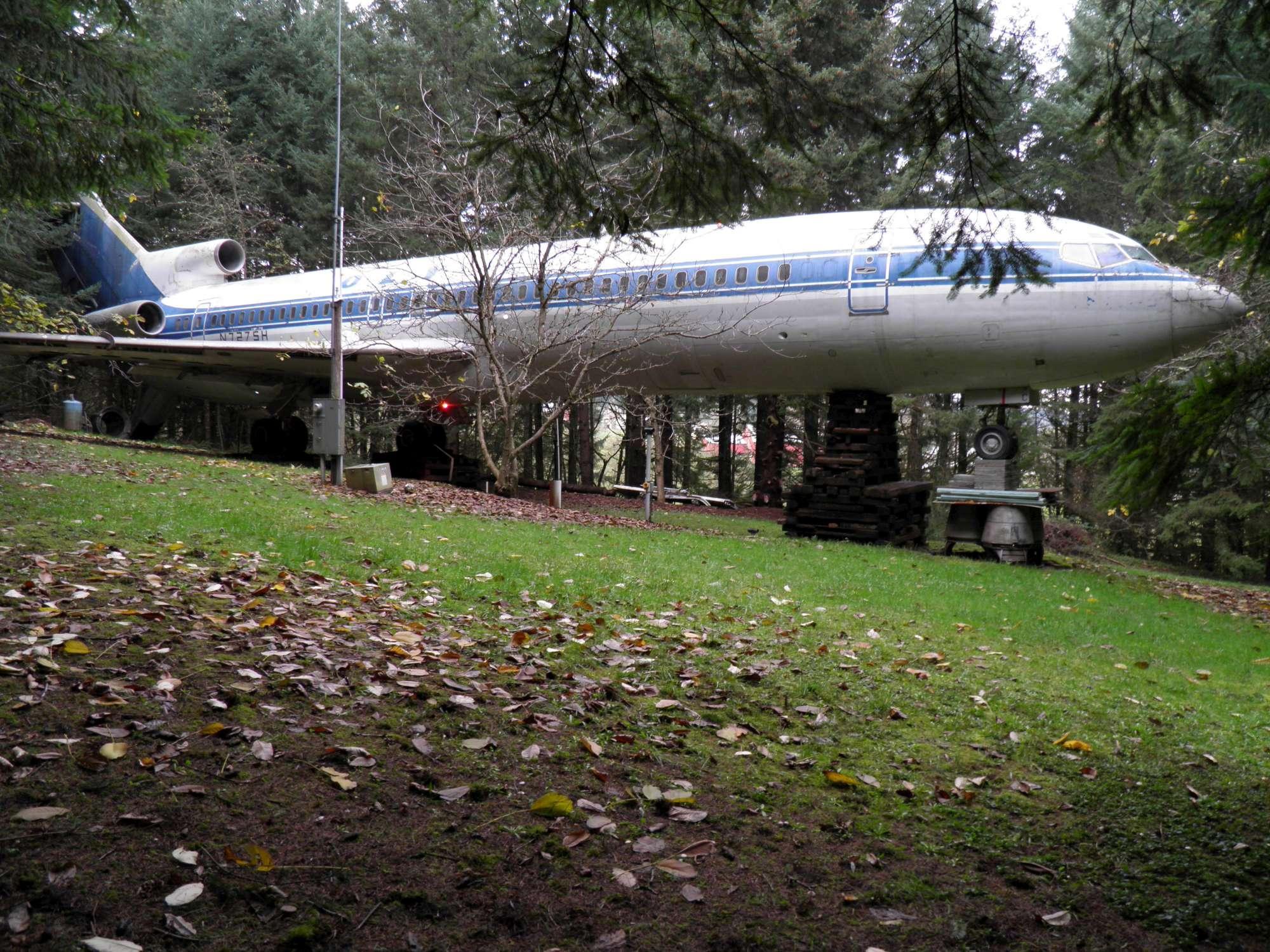 Un Boeing come casa: ecco Bruce Campbell, l uomo che vive in un aereo in mezzo al bosco