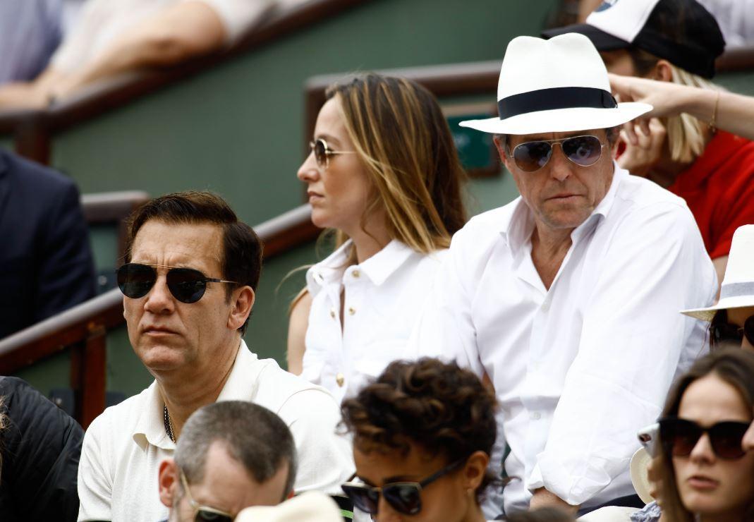 Roland Garros: da Hugh Grant a Marion Cotillard, quanti vip in tribuna!