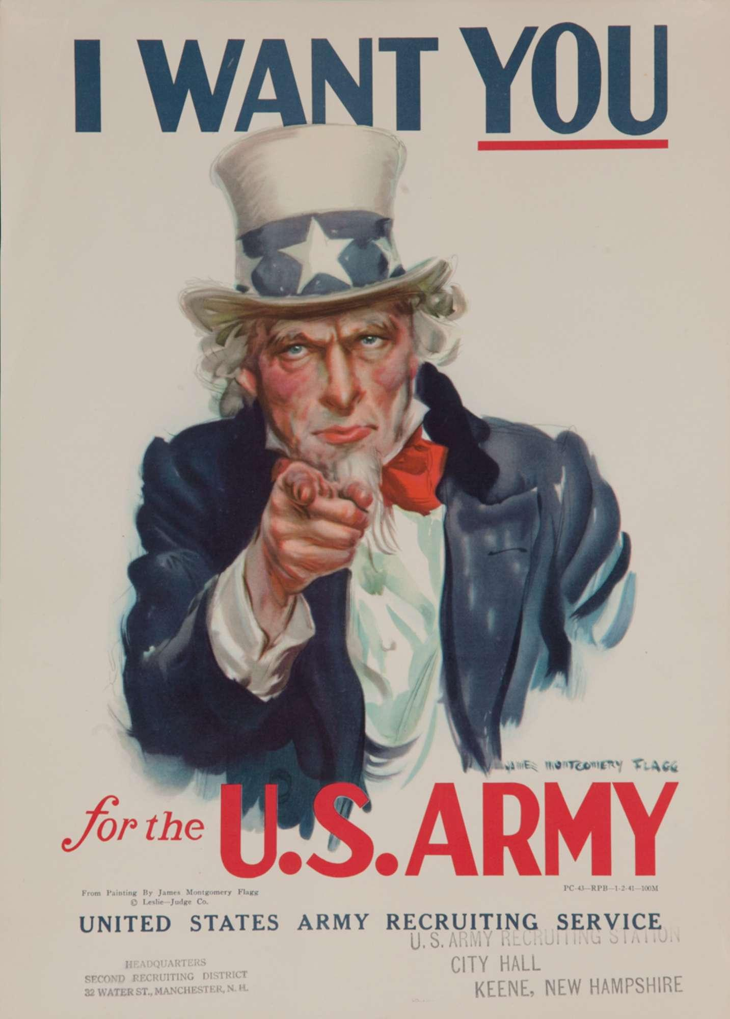 Chiamata alle armi, i manifesti di reclutamento durante la Seconda guerra mondiale
