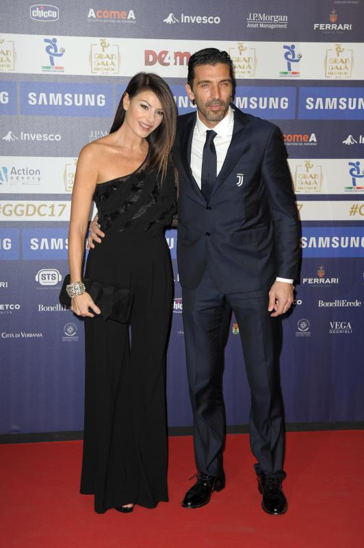 Gigi Buffon e Ilaria D Amico insieme al Gran Galà del calcio