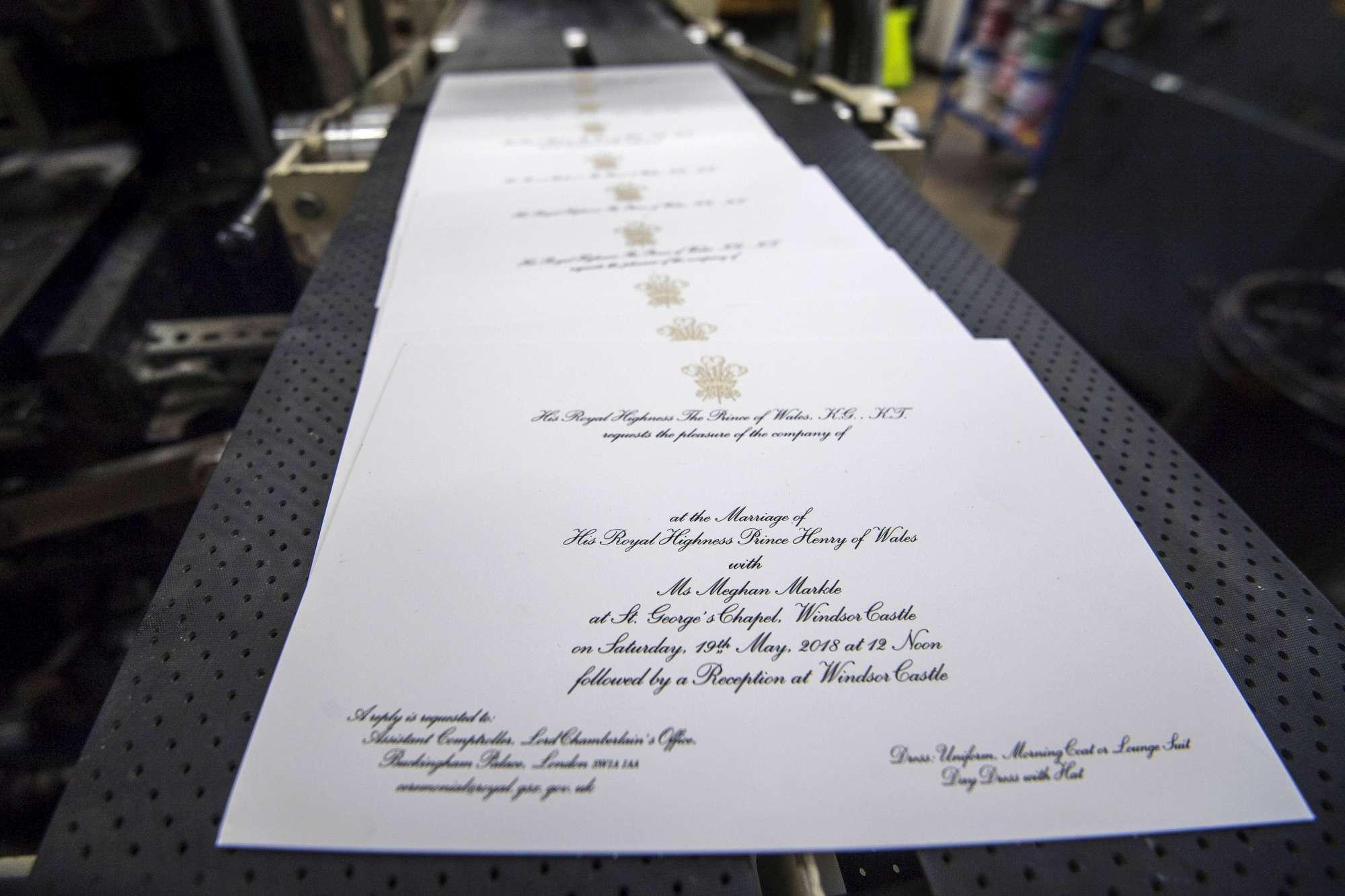 Royal Wedding, partiti i 600 inviti per matrimonio di Harry e Meghan