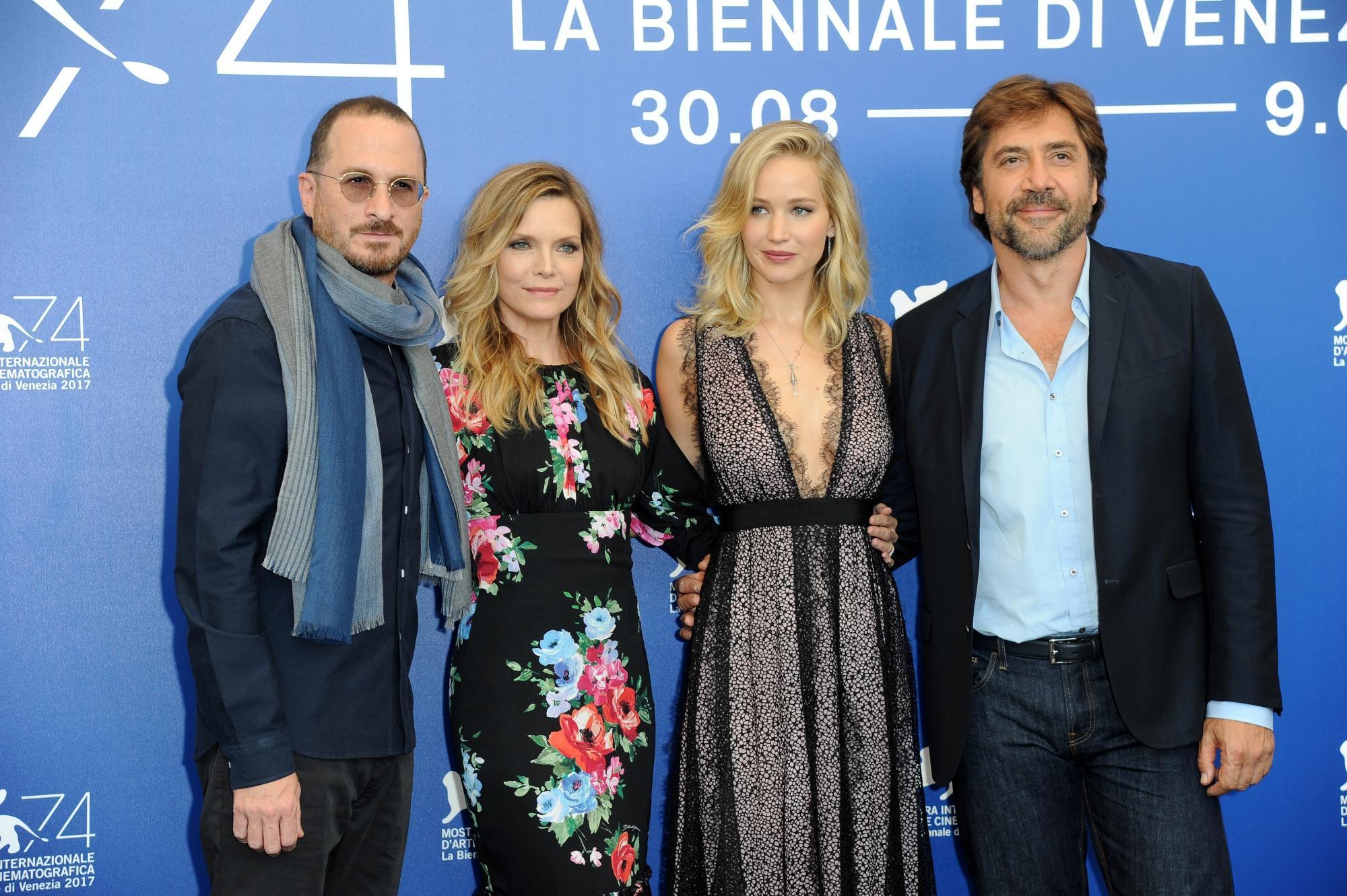 Venezia 74: in posa il cast di  Mother! , il film di Darren Aronofsky