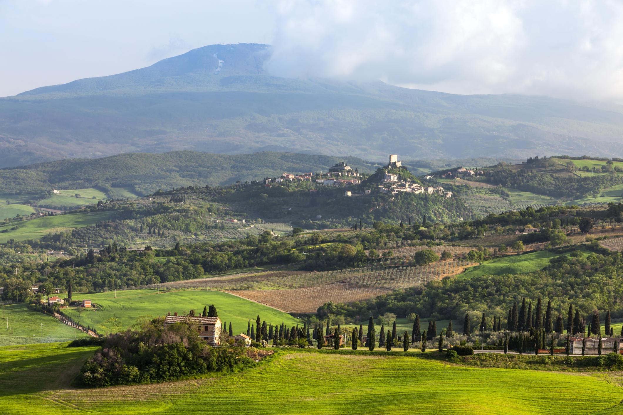 Toscana a piedi o in bici: dal Brunello al Monte Amiata