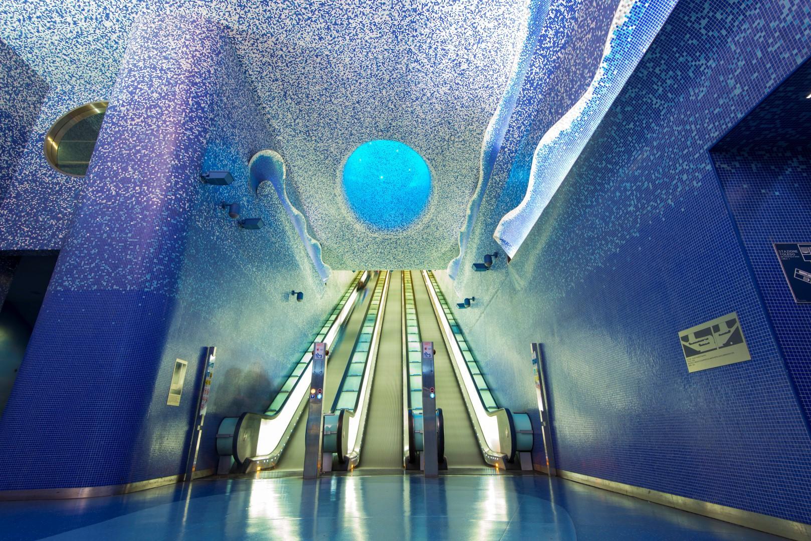 Metropolitana in viaggio tra le stazioni pi belle del for Le piu belle fotografie