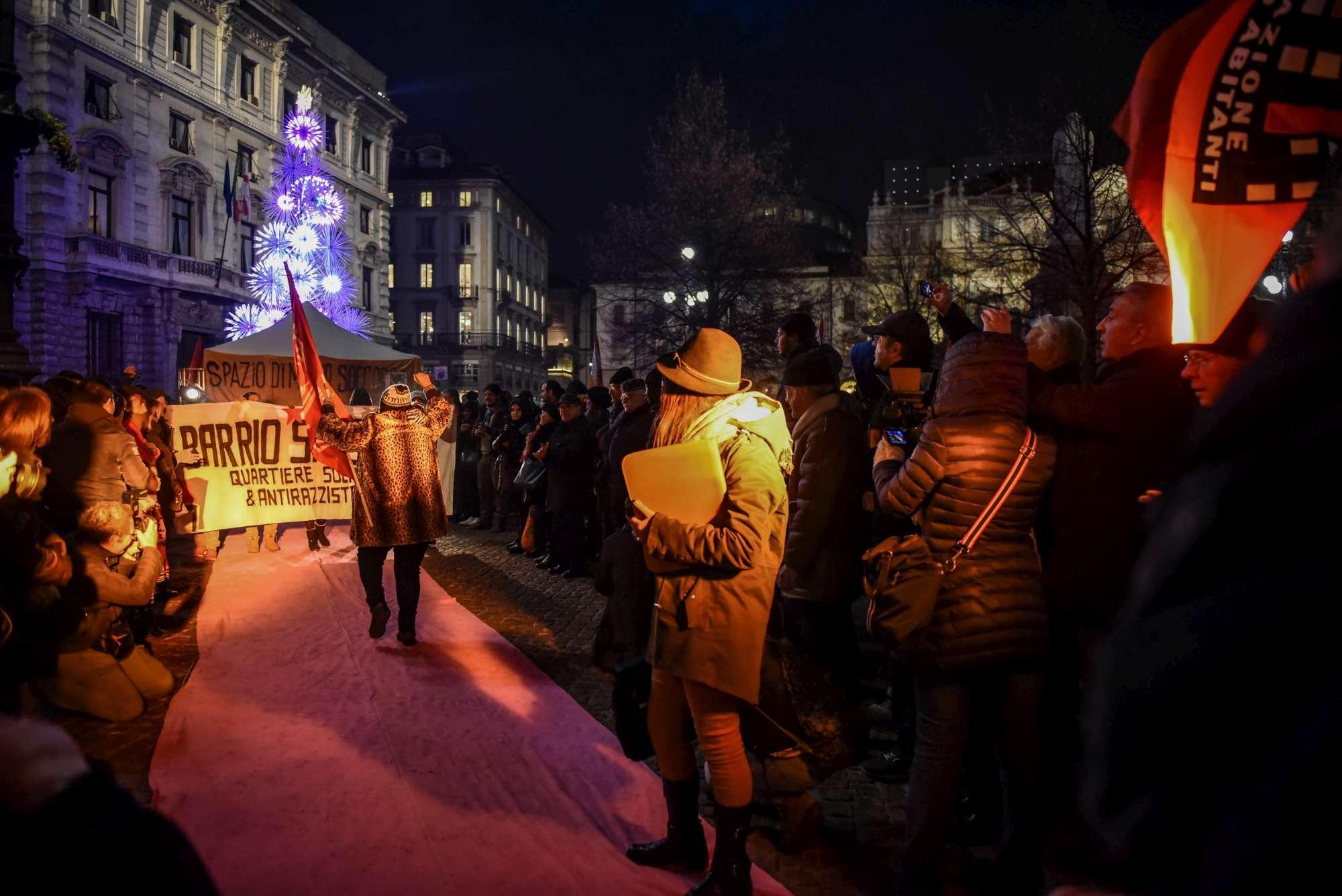 Prima della Scala, proteste e piazza blindata
