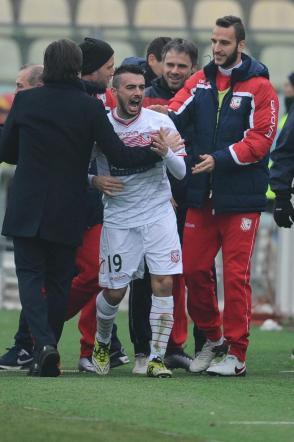 Pasciuti, un gol da record: in rete con la maglia del Carpi dalla D alla A