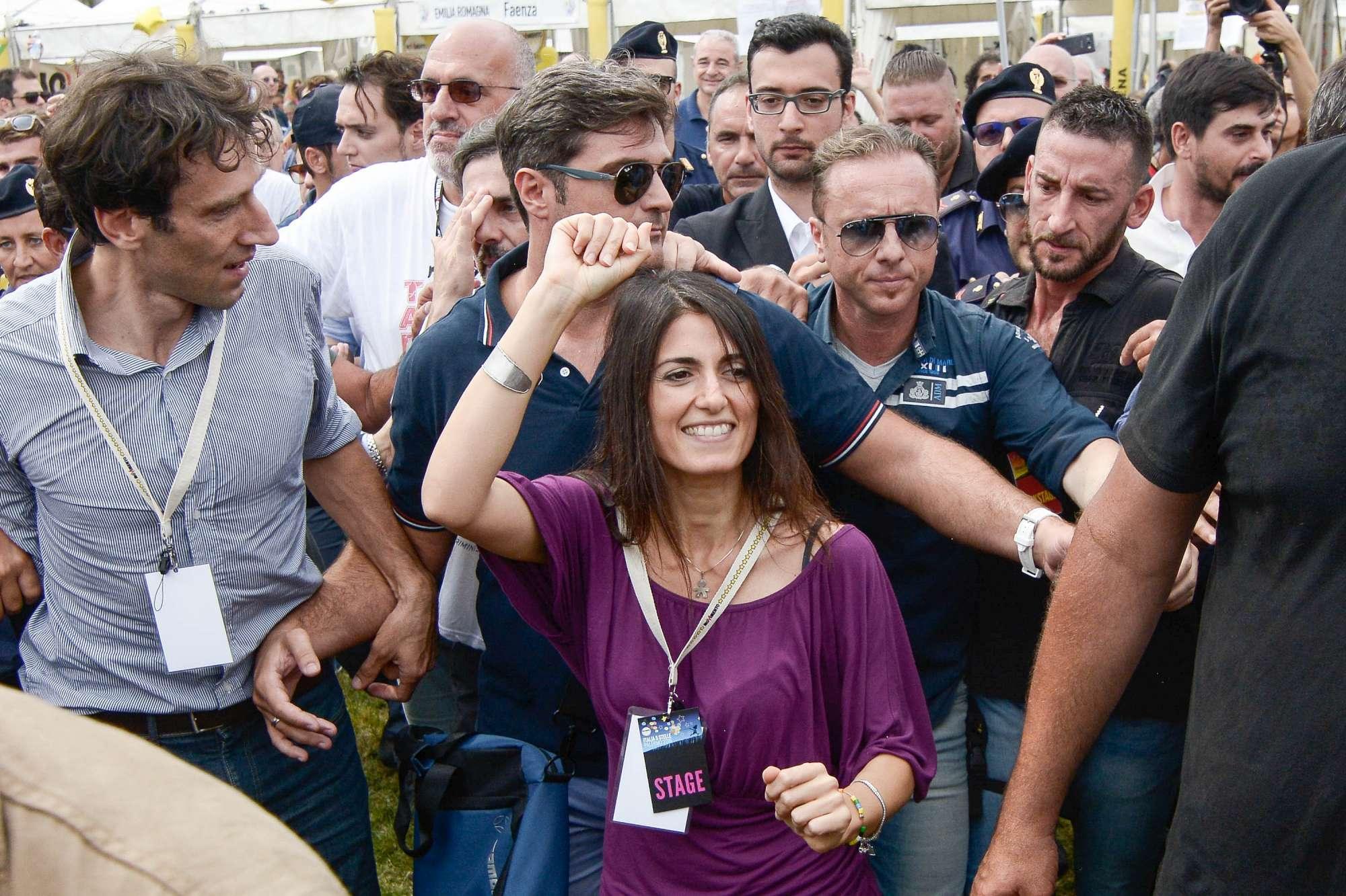 Raggi a Palermo: