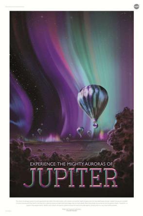 Vacanze nello spazio formato poster, la Nasa illustra i viaggi cosmici del futuro