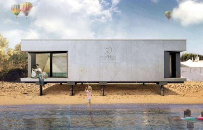 Via al progetto Biosphera 2.0, la casa attiva italiana che si  ricarica  con una cyclette