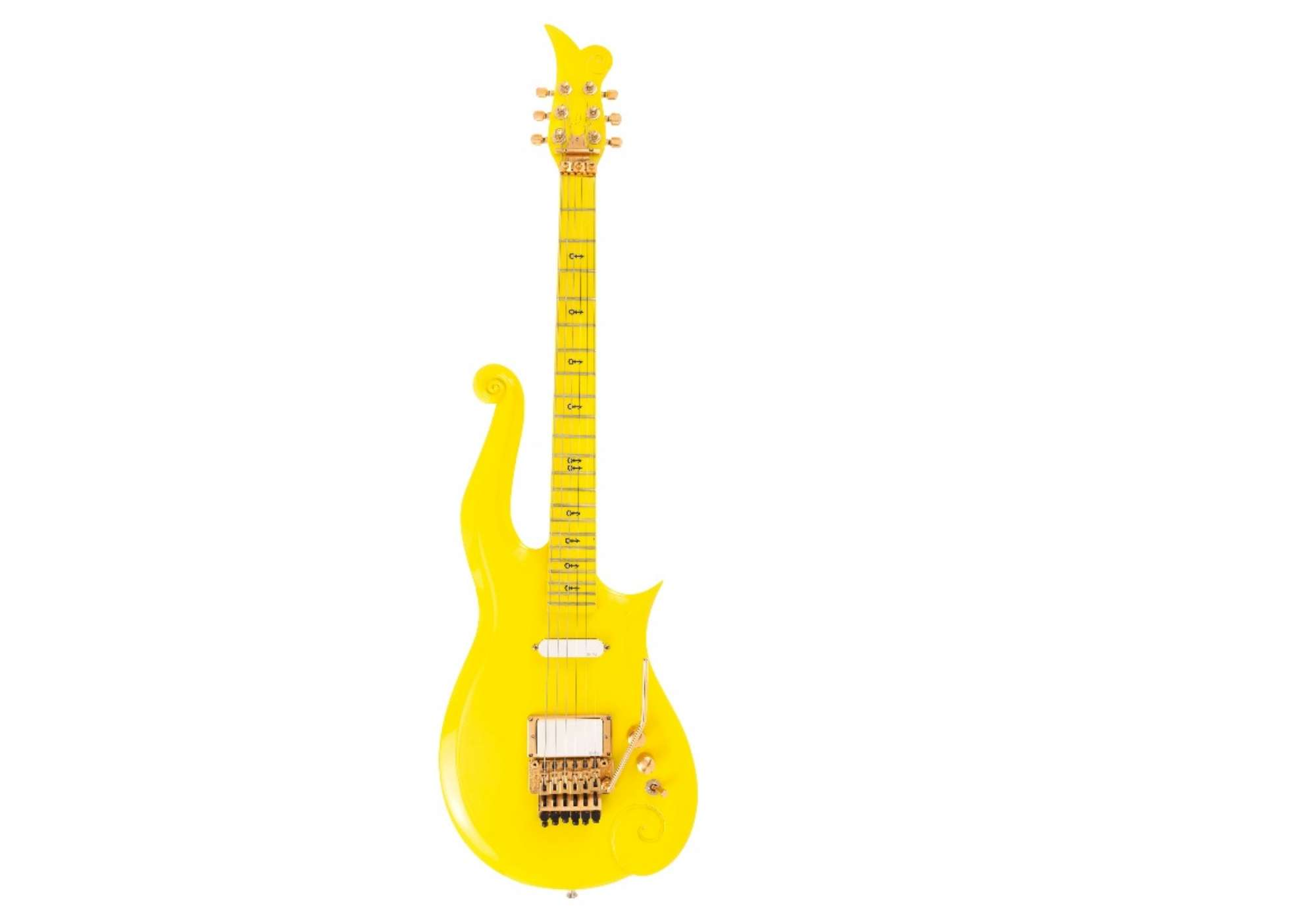 Prince: la chitarra Yellow cloud sarà venduta all'asta insieme ad altri oggetti