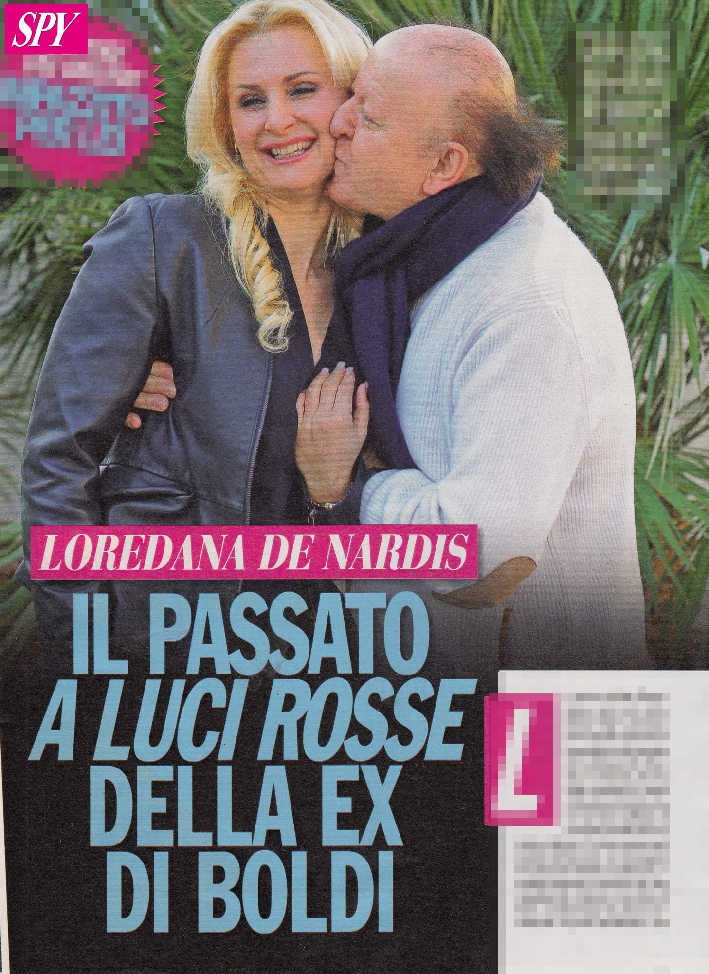 Massimo Boldi, le foto del passato a luci rosse della sua ex