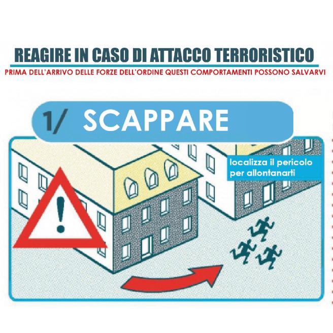 Terrorismo, il vademecum del governo francese: ecco cosa fare in caso di attentati