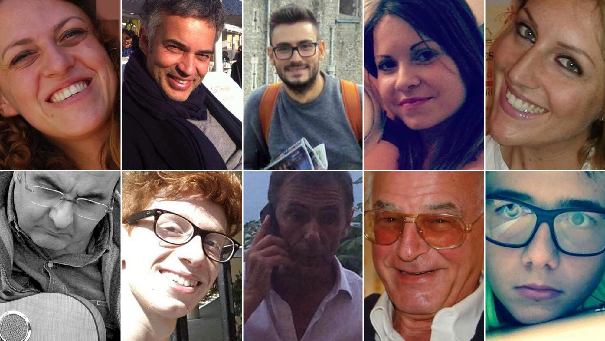 I nomi e i volti delle vittime del disastro ferroviario: Jolanda stava per sposarsi, Antonio tornava da un esame