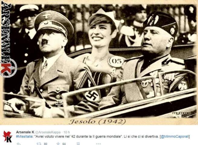Miss Italia 2015, i social impazziscono dopo la gaffe sulla Seconda Guerra Mondiale