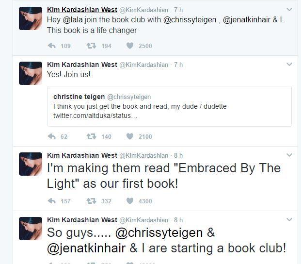 Kim Kardashian, dagli scatti hot alla lettura