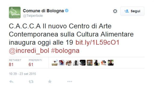 Il Comune di Bologna scivola sul C.A.C.C.A.