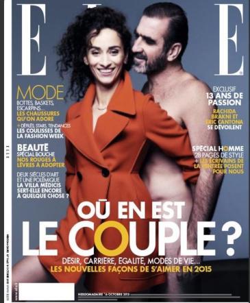 Eric Cantona stupisce ancora: nudo su Elle Francia