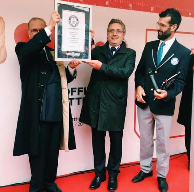 Expo, baguette alla Nutella da record: 122,4 metri