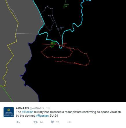 Siria, la Turchia abbatte un jet russo Furia Putin, giallo sulla sorte dei piloti