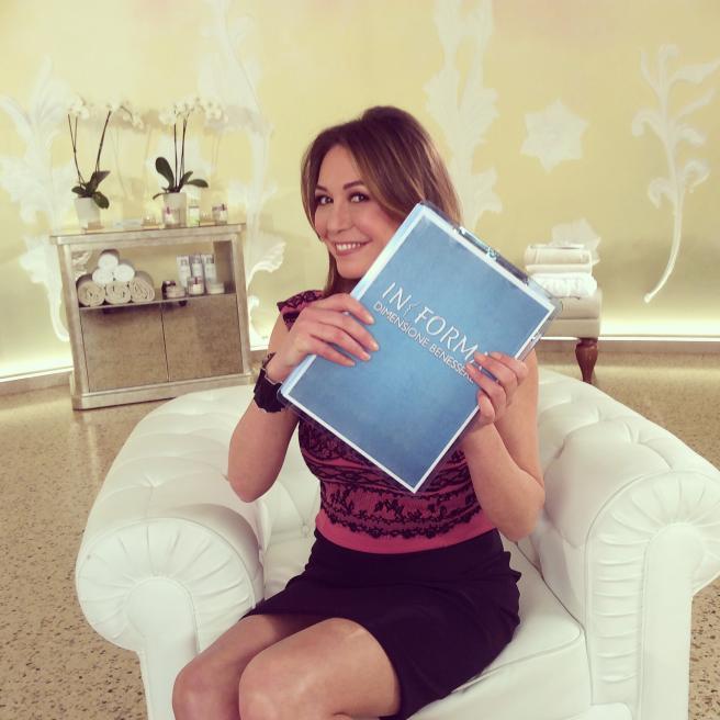 """Tessa Gelisio torna con la nuova serie di """"InForma-Dimensione Benessere"""""""