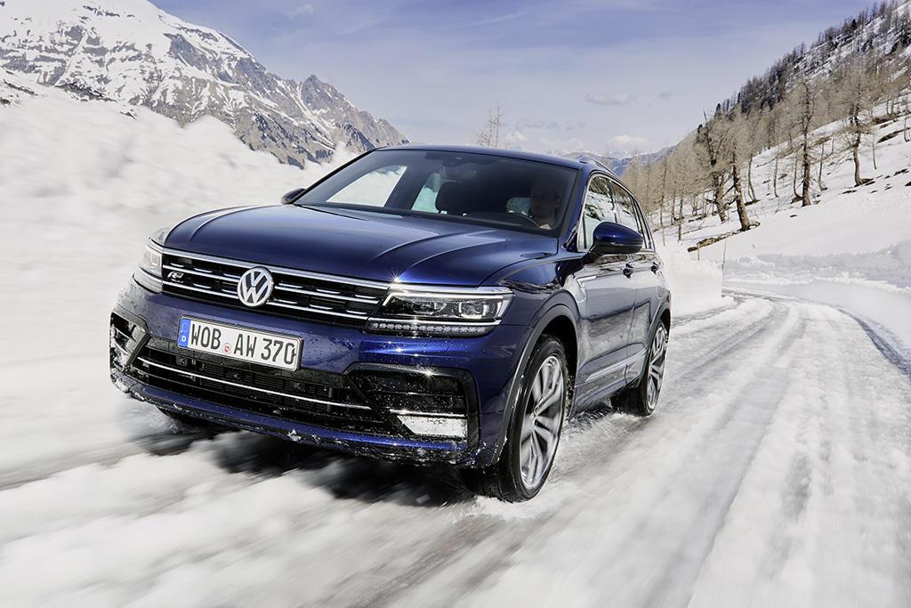 Le nuove Volkswagen Tiguan 2018