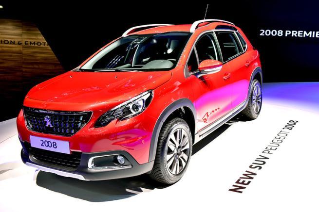 Peugeot 2008, il crossover di successo