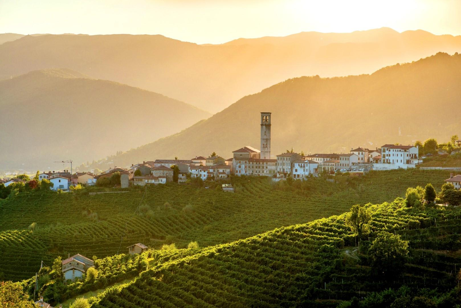 Veneto: la vita è dolce nella terra del Cartizze