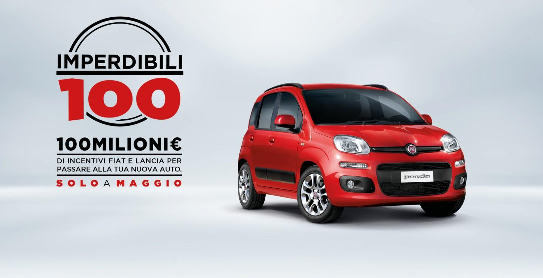 Fiat e Lancia: offerta imperdibile a maggio, incentivi per 100 milioni