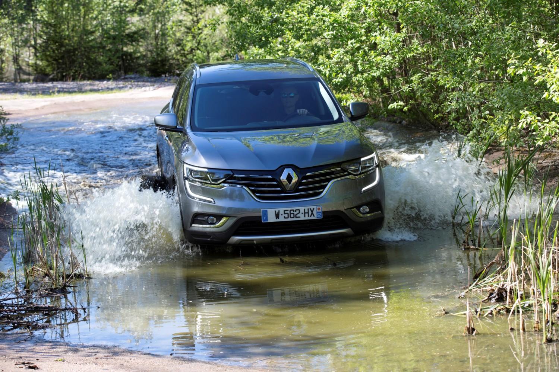 In prova Renault Koleos