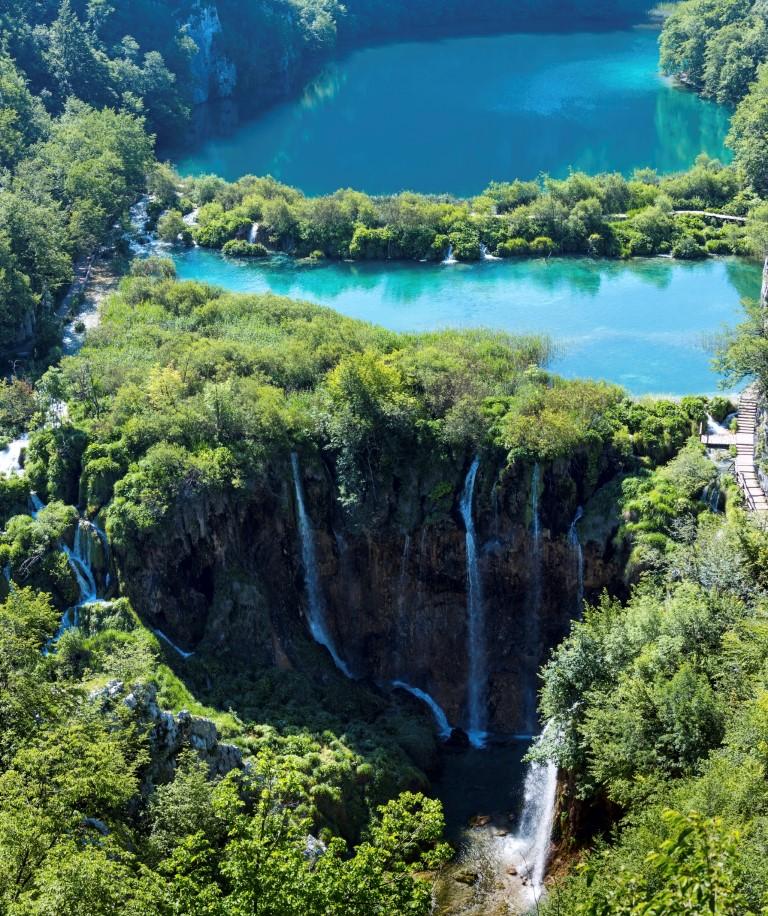 Croazia, a Plitvice Il Regno delle acque