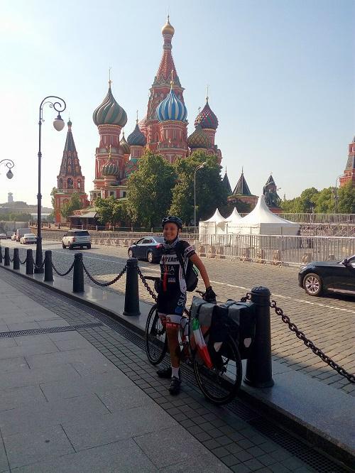 La Volpe a pedali di Cornaredo: 6mila chilometri in bici da Mosca alla Mongolia