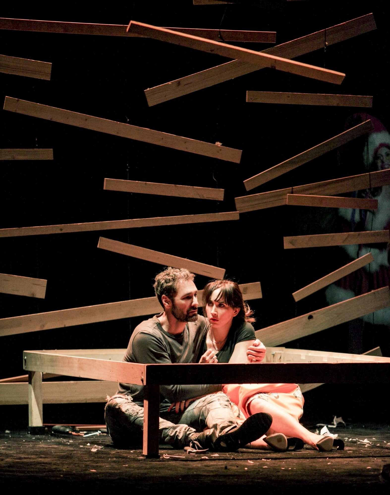 Raoul Bova e Chiara Francini a teatro