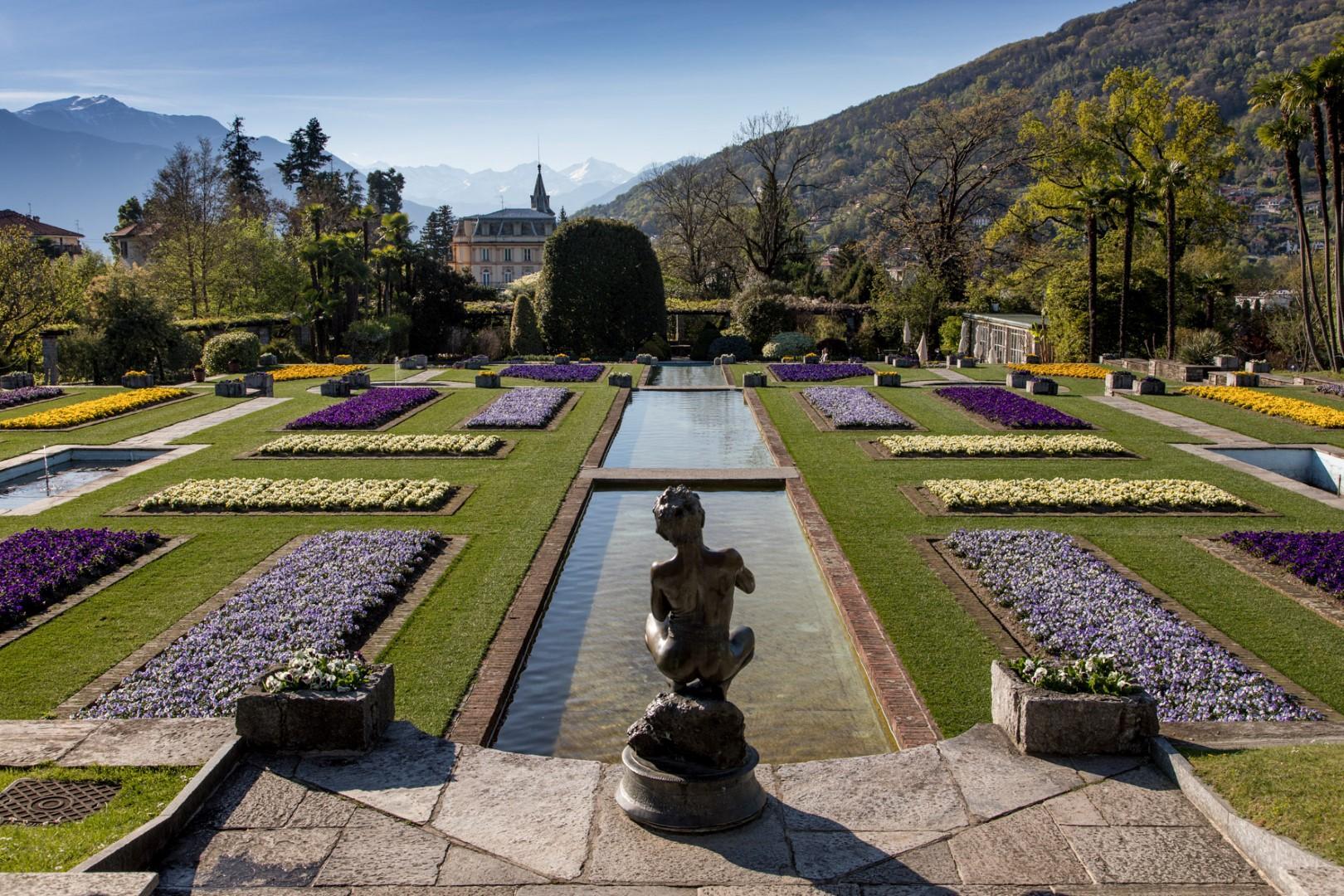 Nero Giardini Ufficio Stampa : Sul lago maggiore i giardini più belli del mondo foto tgcom