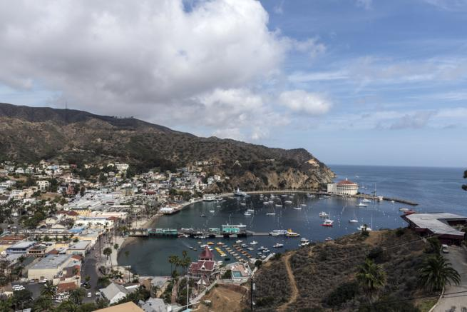 A Santa Catalina, la California di Marylin