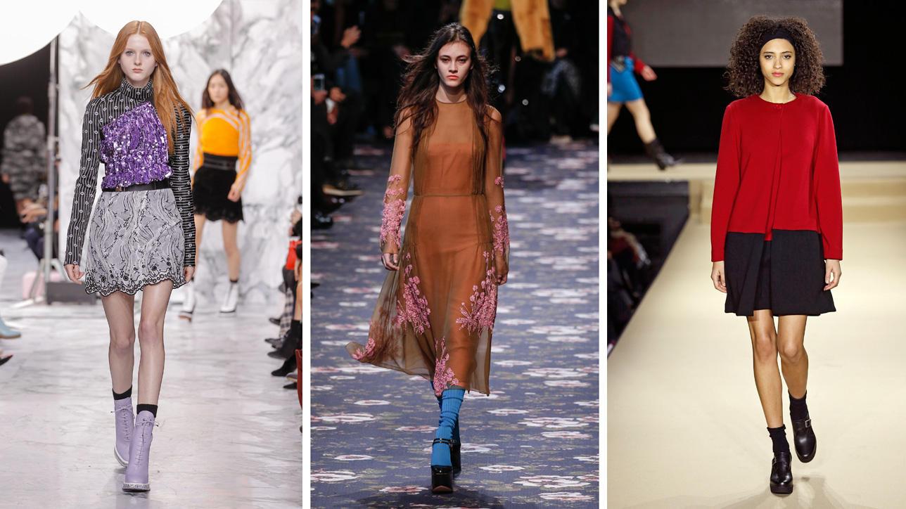 Outfit Ufficio Inverno 2016 : Calze: le tendenze per lautunno inverno 2016 tgcom24