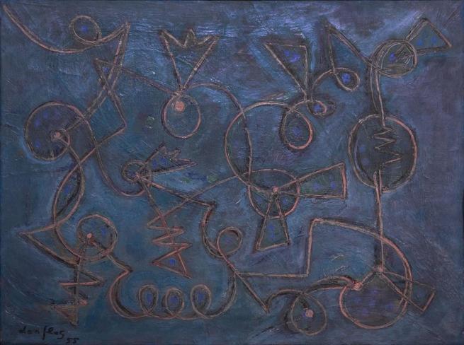 Fra opere d'arte e teorie estetiche, Gillo Dorfles in mostra a Roma