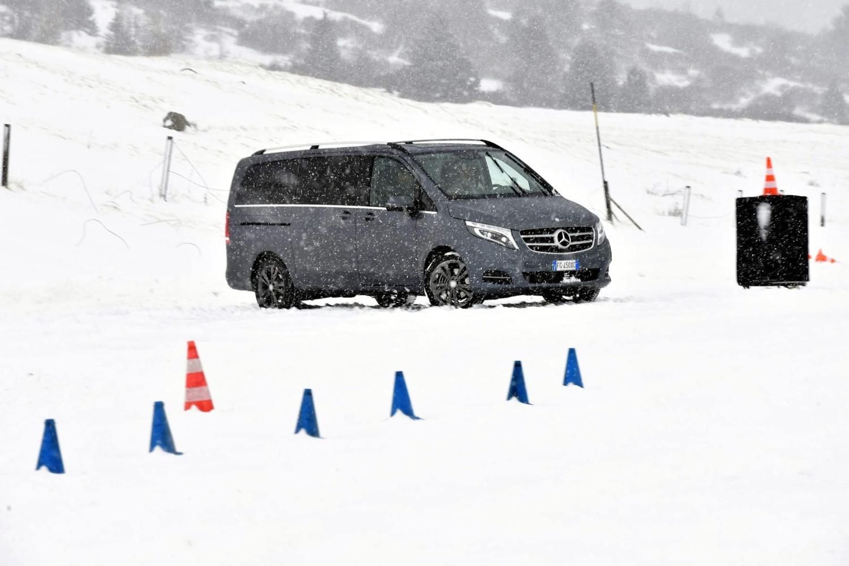 Sotto la neve con la trazione 4Matic