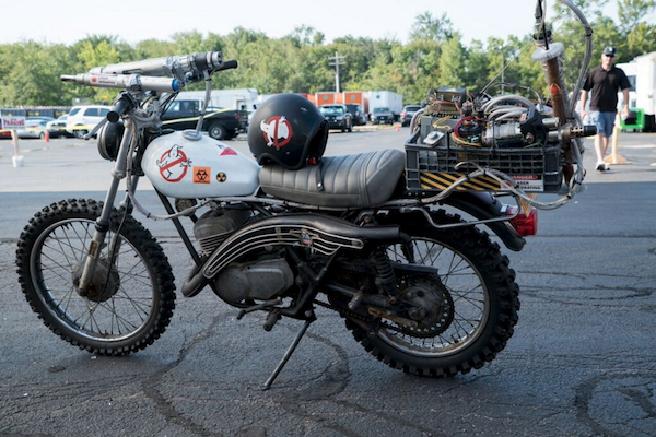 Ghostbuster 3, ecco la motocicletta delle acchiappafantasmi